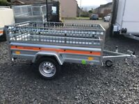 BRAND NEW 2021 MODEL 6.7x 3.7 SINGLE AXLE TEMARED ECO TRAILER WITH 40CM MESH750KG