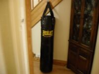 Everlast 4ft punchbag (with 2no pairs of 10oz gloves if needed)