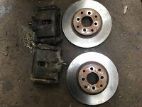 honda civic 282mm big brake set up 4x100 eg ek4 vti ej9 92-00