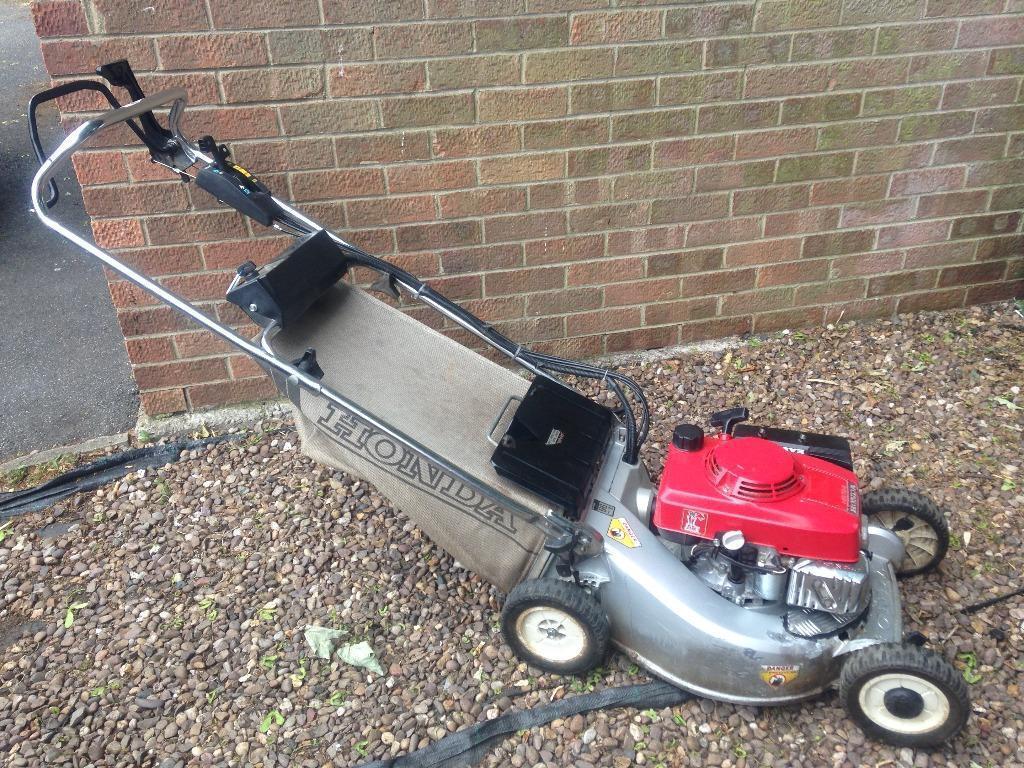 Honda Hr194 Self Propelled Lawn Mower In Very Good