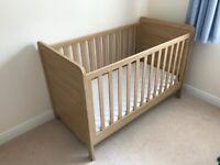 Mamas and Papas Rialto Cot / Toddler Bed