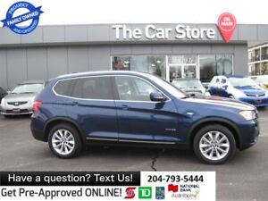 2013 BMW X3 xDrive35i 1owner NEW TIRES leather htd push start