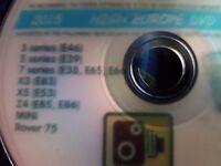 Sat nav cd from range rover