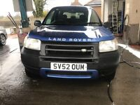 GREAT LIKE A VAN LAND ROVER FREELANDER 1.8 CONVERTIBLE 4X4 HARD TOP FULL MOT PART EXCHANGE WELLCOME