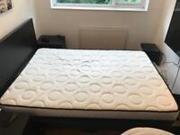 Standard double memory foam mattress