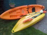Sit ontop Kayak 3 Seater (2+1) Good Condition