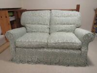 SOLID BEACHWOOD FRAME - 2 X 2 Seater Settees + 1 Chair Happy to deliver free if purchaser is local
