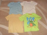 Set of Four Next BNWT T-shirts 1.5-2 years