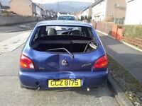 Cat c ford fiesta good engine for parts or repair only 51:000 on the clock