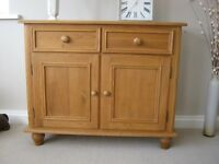 Solid pine pine sideboard in great condition