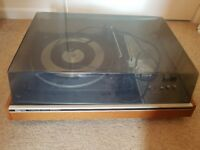 Old 1960/70s turntable for parts/not working