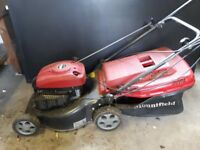 Mountfield RV150 petrol mower (see condition)