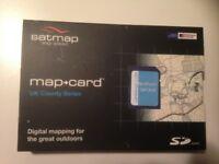 BRAND NEW UNOPENED Satmap Map Card 1:50,000 Northumberland 1:50k