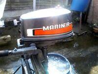 Mariner outboard motor 4hp