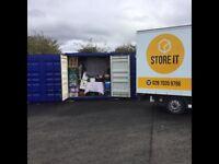 STORE IT SELF STORAGE VAN BUSINESS HOUSE CARAVAN NORTHERN IRELAND COLERAINE PORTSTEWART PORTRUSH