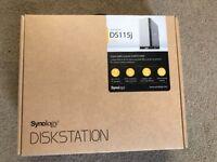 Synology DS115j NAS Server, Diskless