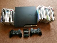 Ps3 console with 17 games!