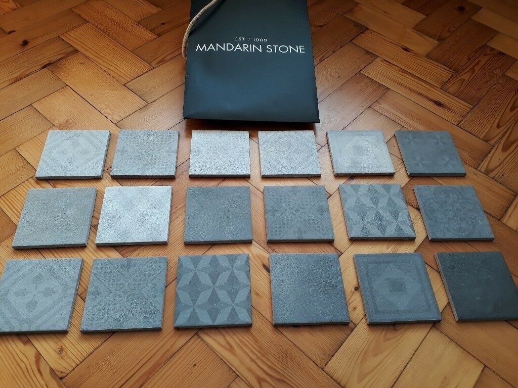 Mandarin Stone selection of grey wall tiles | in Cardiff | Gumtree