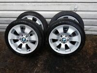BMW 3 series winter tyres, excellent condition.