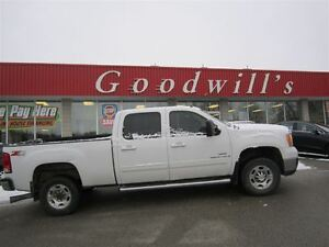 2008 GMC SIERRA 2500HD SLT! CREW! AS TRADED!