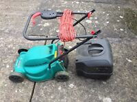 Bosch Rotak 320 Electric Lawnmower with Box - REDUCED FOR QUICK SALE