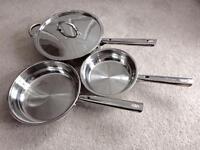 Jean Patrique Professional Stainless Steel Pans