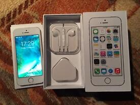 iPhone 5s 16GB , EE, virgin. Silver colour. Excellent condition.