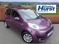 Peugeot 107 ACTIVE (mauve/purple) 2013-07-08