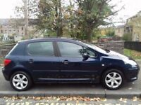 Peugeot 307 1.6 2007 (07)**Diesel**Long MOT**Very Economical Family Car**ONLY £1495