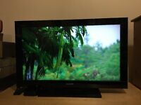 Sony Bravia, 32 inch TV with remote and box