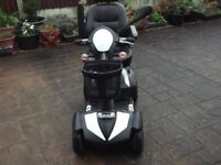 envoy drive mobility scooter,8 mph,like new condition,free local delivery other at cost of fuel.