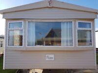 cheap static caravan on 5 star park in Devon