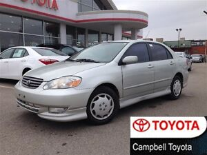2003 Toyota Corolla Sport 5 SPD GOOD TIRES