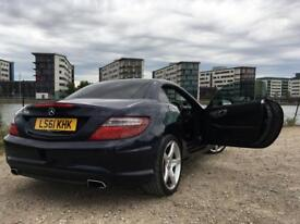 Selling my Mercedes SLK 200 2011 Dark Blue