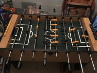 Football table for sale. £60. Collection free or for extra £10
