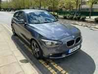 BMW 1 SERIES AUTOMATIC 1.6CC PETROL 2014 3 DOOR, CAT D
