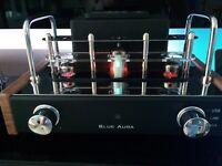 Blue Aura V30 VALVE AMPLIFIER & SPEAKERS. Superb. Unmarked.REDUCED FOR QUICK SALE