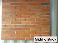 Brick slips wall tiles, cladding