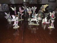 Collectors Metal Fairy Figurines