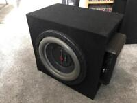 #B DB AUDIO TREX 10 Subwoofer and KENWOOD X501-1 Amplifier