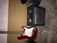 Bridgecraft Guitar for Sale with Peavey 158 amp