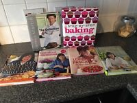 Various cook/baking books