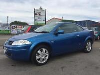 2005 RENAULT MEGANE CABRIOLET DYNAMIQUE 1.6 PETROL WORKING ROOF AND WINDOWS!!!
