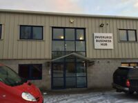 Inverurie. Space within serviced Business Hub available to rent