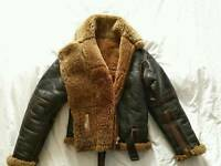 Genuine Irvin leather flying jacket