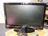 Toshiba 19inch Widescreen HD Ready LCD TV with Built-in DVD Player and Freeview Tuner