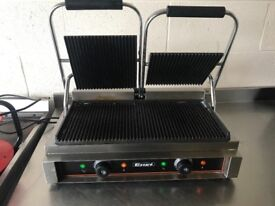 Panini grill commercial catering resturant hotels pubs cafe