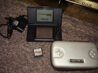 NINTENDO DS LITE WITH GAMES CASE AND CHARGER