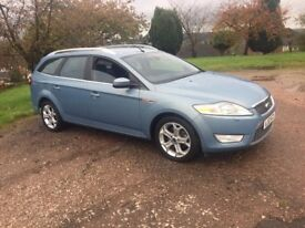 FORD MONDEO TITANIUM X ESTATE 2.0TDCI 6 SPEED AUTOMATIC FULL SERVICE HISTORY DIESEL