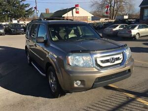 2009 Honda Pilot EX-L, Loaded; Leather, Roof, Drives Great Very  London Ontario image 7